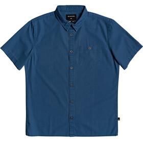 Quiksilver Taxer Wash Skjorte Herrer, majolica blue